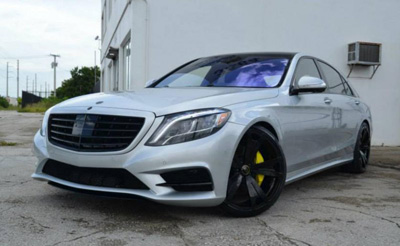 Mercedes-Benz S550 в исполнении MC Customs